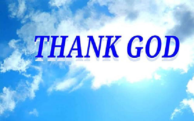 """Is saying """"Thank God"""" taking the Lord's name in vain?"""