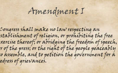 If the U.S. 1st Amendment was banned, would the Church follow it?