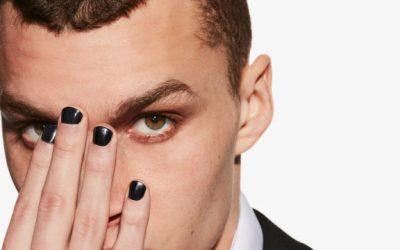 Should my son take off his black nail polish while passing the Sacrament?