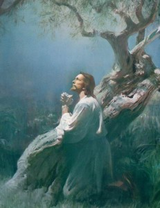 Christ in Gethsemane Mormon