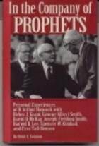 Company of Prophets mormon