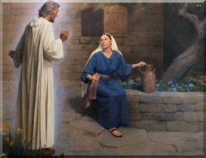 Gabriel appearing to Mary Mormon