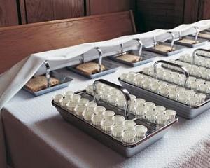 Mormon Sacrament trays