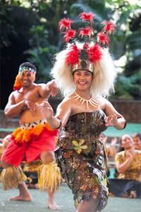 Polynesian dancing Mormon