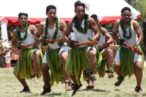 Mormon Tongan dancers