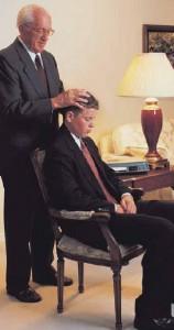 Mormon Priesthood blessings