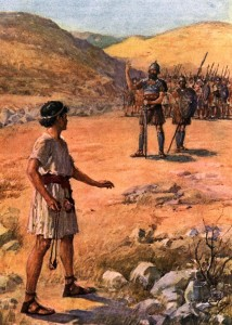 Mormon-david-facing-goliath
