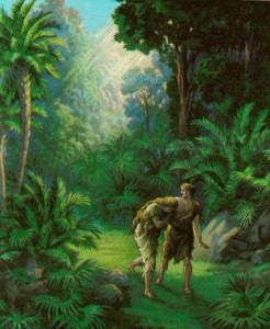garden of eden mormon