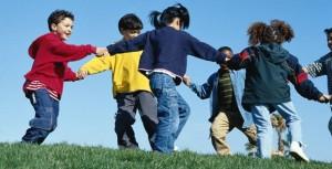 kids playing mormon