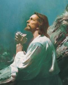 mormon jesus christ gethsemene