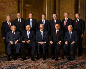 mormon-Quorum of Twelve Apostles