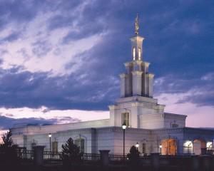 Columbia River Washington Mormon Temple